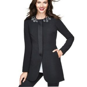 CAbi 135 Embellished Long Symphony Coat